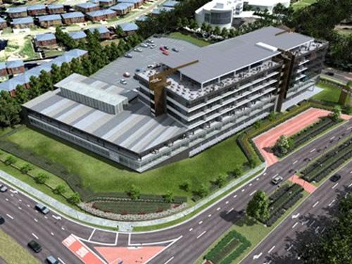 Project Gateway, Norwest Business Park Render