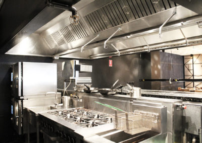 Fire Sprinklers, kitchen exhaust system Four Seasons Hotel Refurbishment